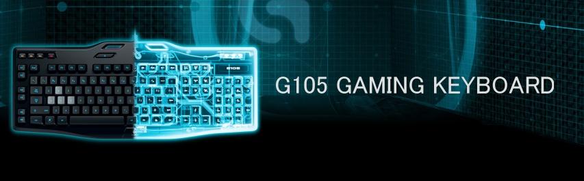 Logitech G105 Gaming Keyboard US - Gaming keyboard
