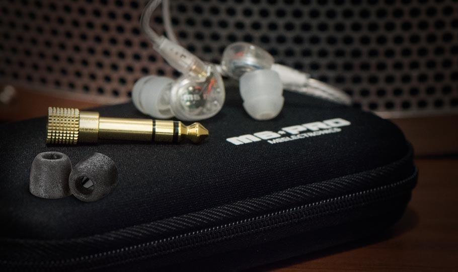 Sluchátka s mikrofonem MEElectronics M6PRO