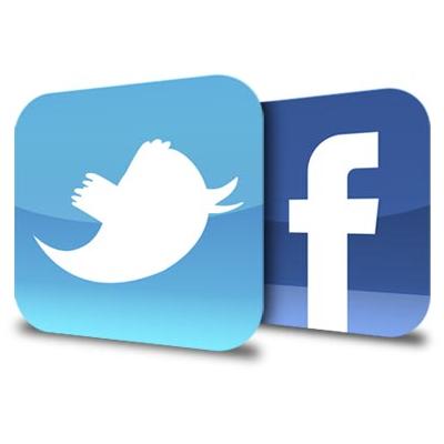 Sdílení na sociálních sítích.
