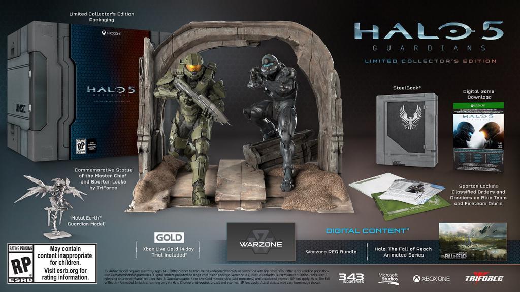 Halo 5: Guardians Limitovaná sběratelská edice