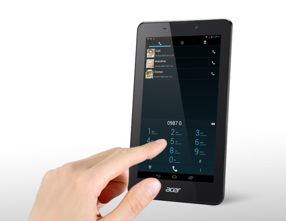 Tablet a smartphone