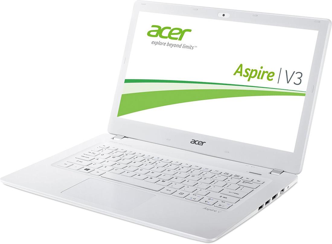 84eca68500 Acer Aspire V13 White Aluminium - Notebook