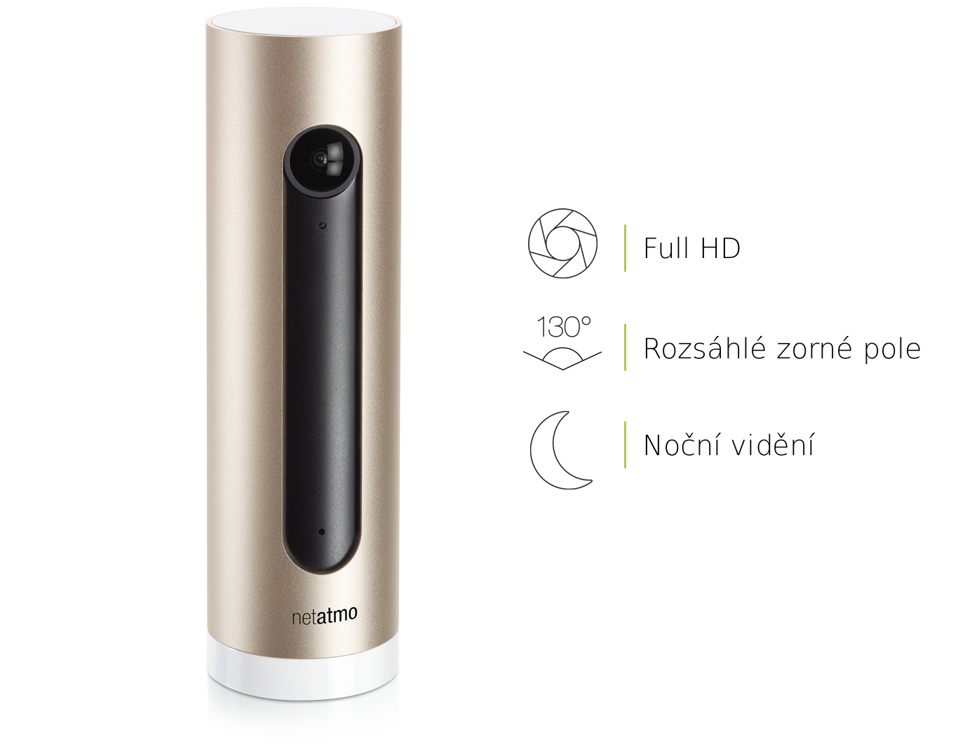 Videokamera Netatmo Welcome HD