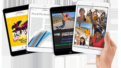 iPad mini 2 s Retina displejem