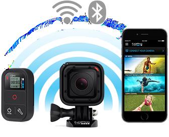 Sdílení přes Wi-Fi a Bluetooth