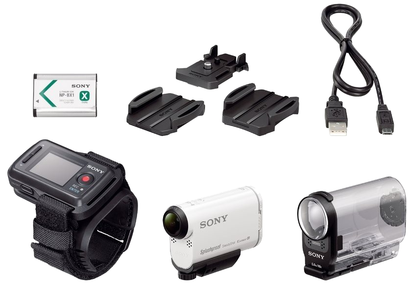 Sony ActionCamHDR-AS200VR - Live-View Kit