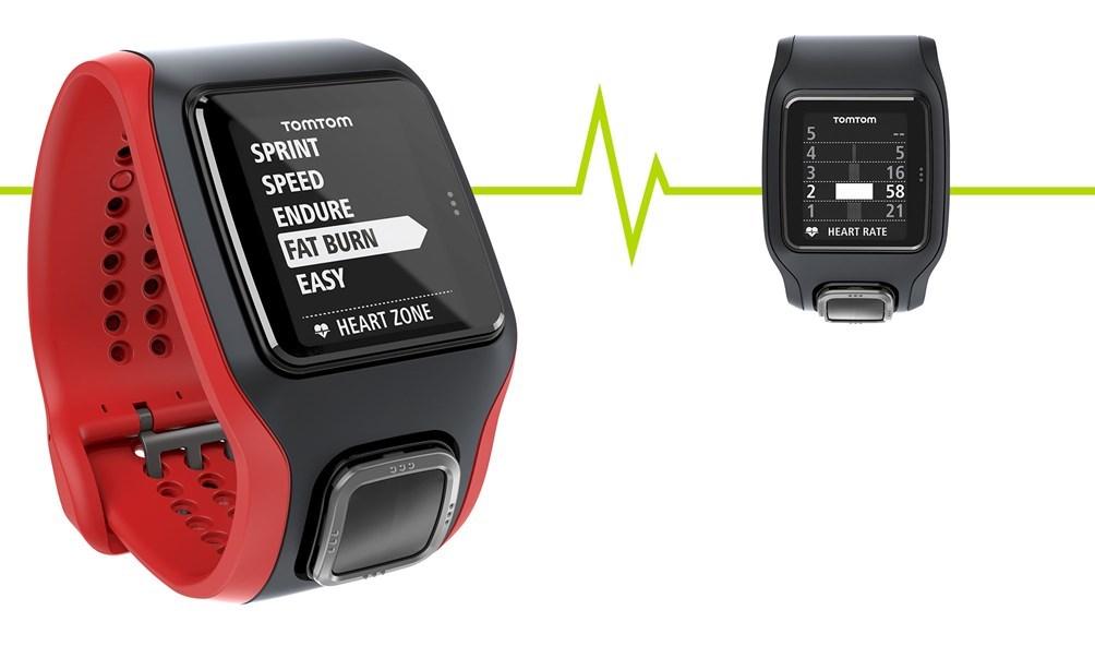 TomTom MultiSport Cardio černo-červené - Sporttester  e15baa45bb