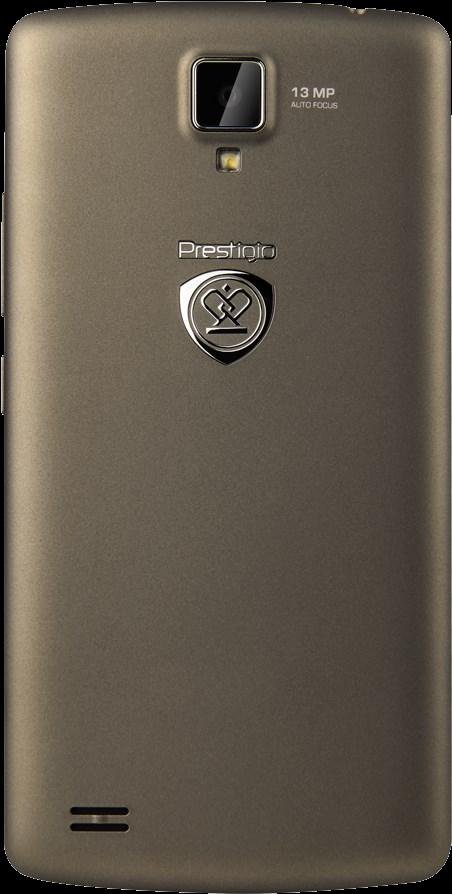 Prestigio MultiPhone 5550 DUO tmavě chromový