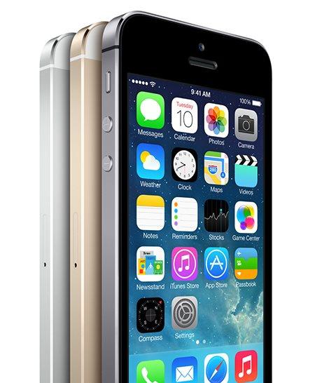 Mobilní telefon iPhone 5S 16GB (Silver) stříbrný
