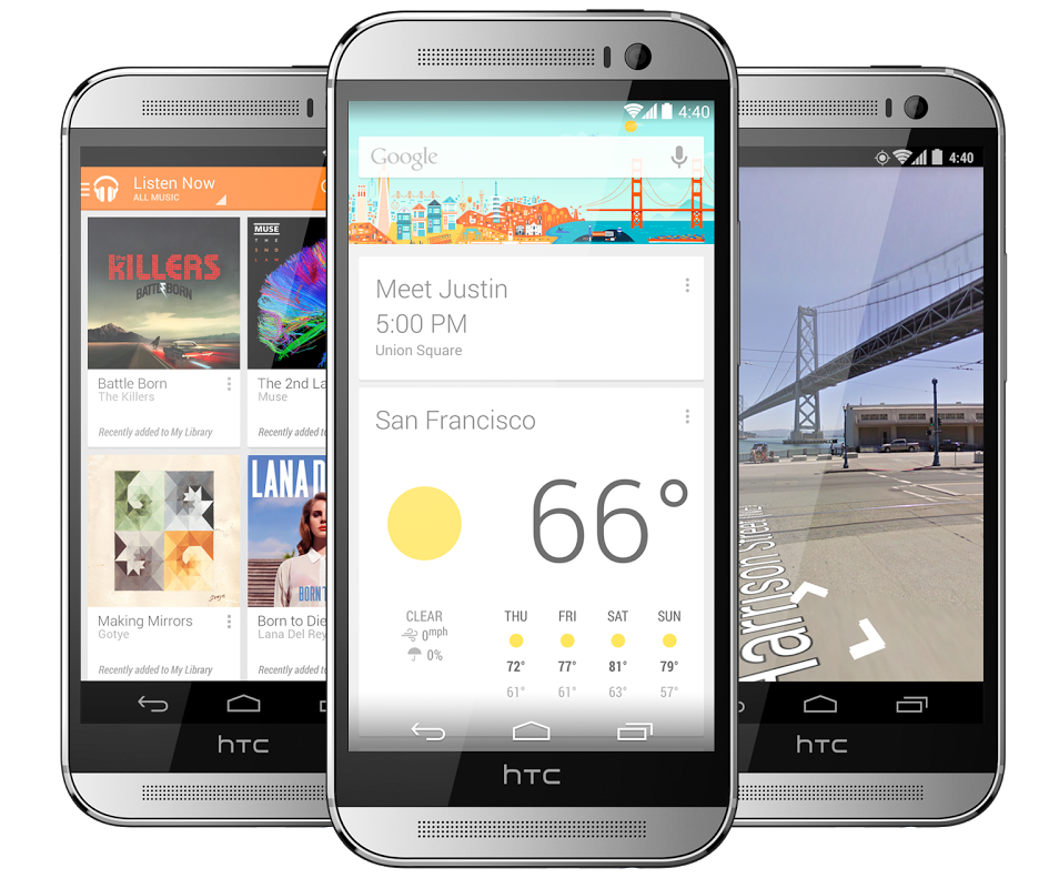 HTC One (M8) Gun Metal Grey Dual SIM