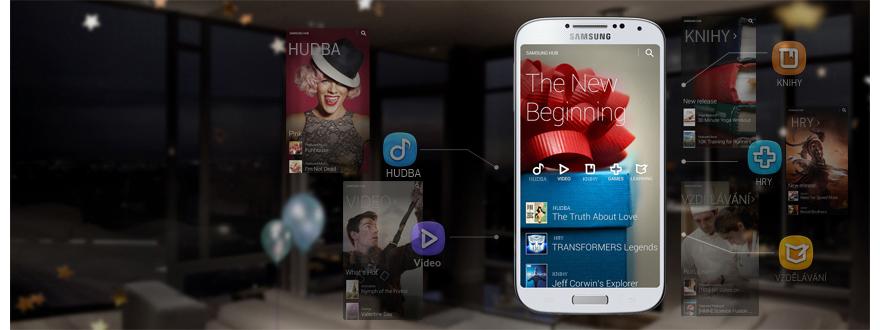 Služba Samsung Hub