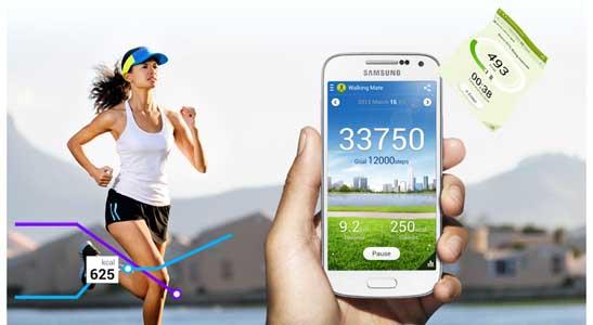 Aplikace S Health