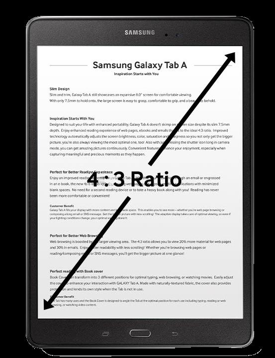"Tablet Samsung Galaxy Tab A 9.7"" S-Pen"