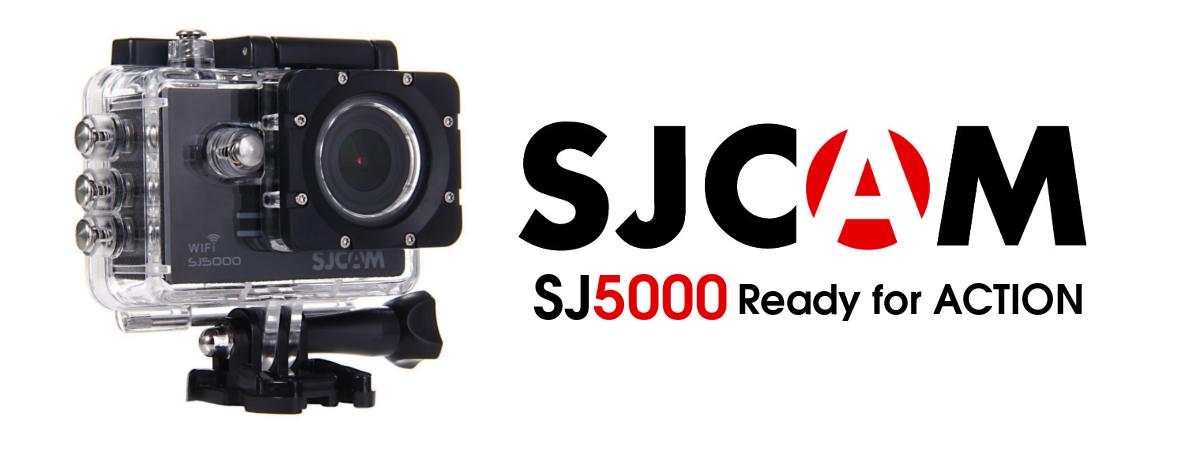 Kamera SJCAM SJ5000 Wi-Fi Black