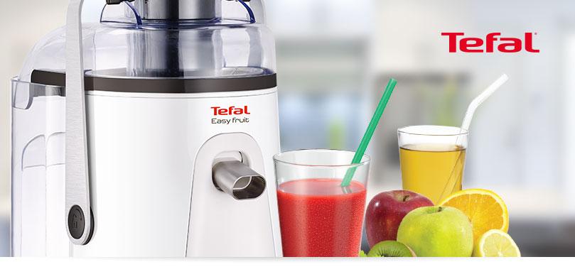 Odšťavňovač Tefal Easy Fruit Juicer ZE581B38