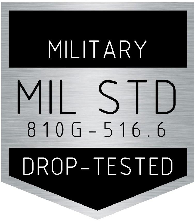 Splňuje vojenské standardy