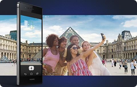 Pochlubte se skvělými selfie (fotografie je ilustrační a barvené zpracování telefonu nemusí odpovídat právě prohlíženému modelu).