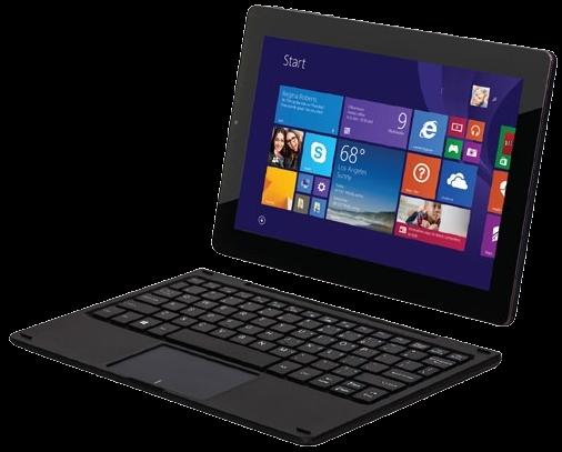 Tablet PC VisionBook 10Wi + odnímatelná klávesnice