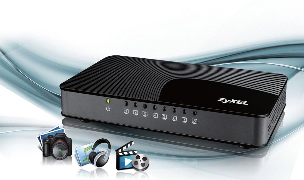Switch Zyxel GS-108Sv2