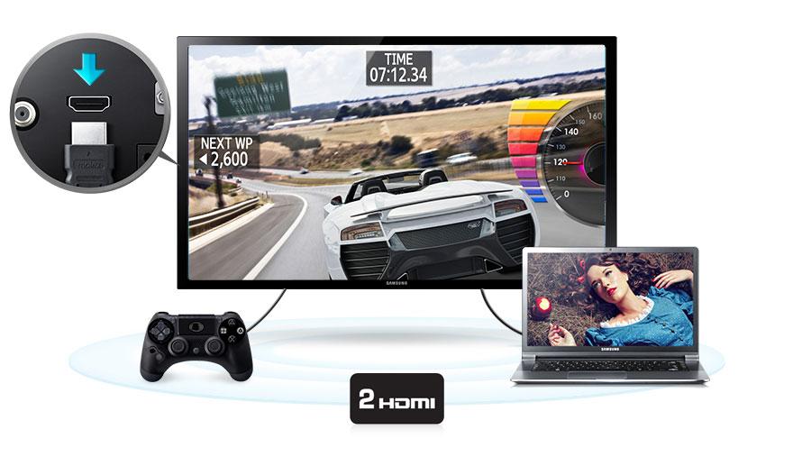 2x HDMI