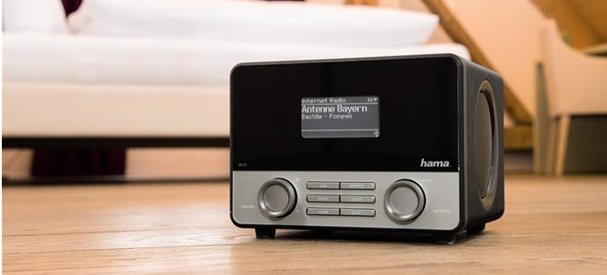 Hama IR110 internetové rádio