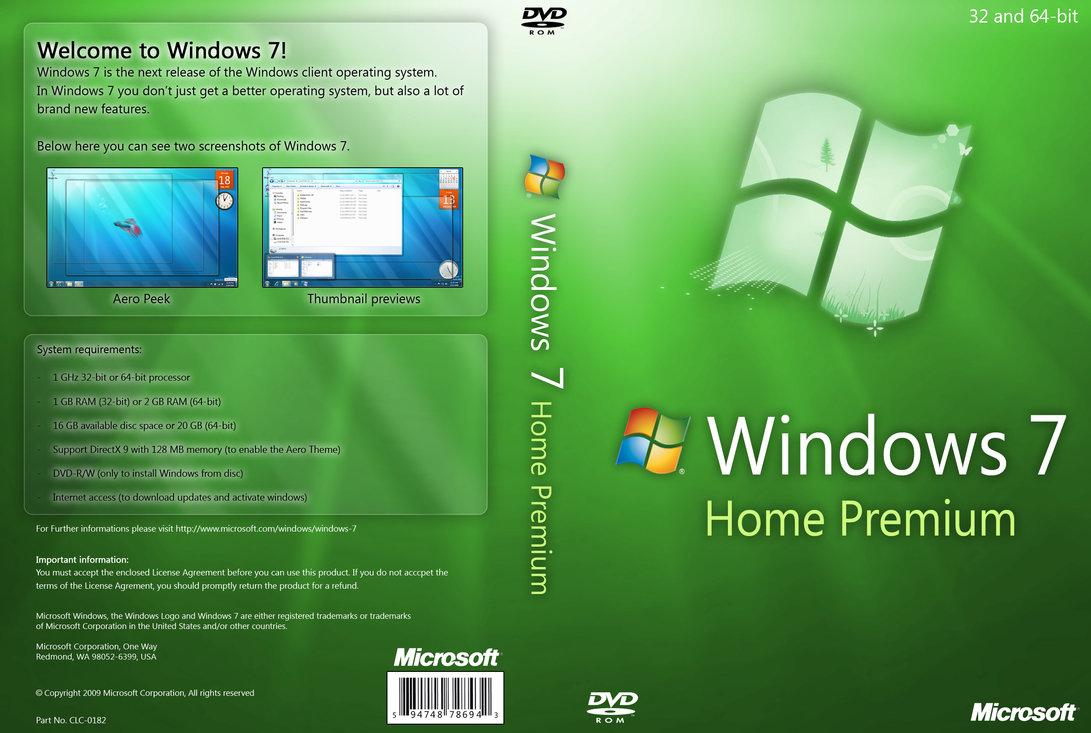 windows 7 home premium 64