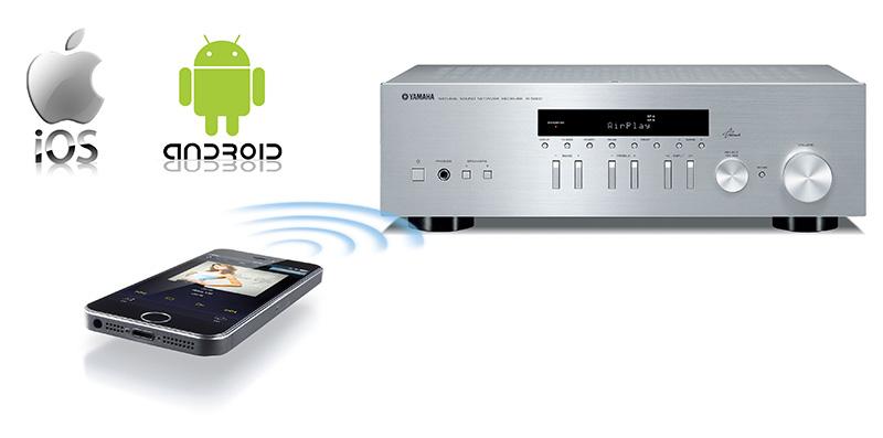Aplikace Yamaha NP Controller