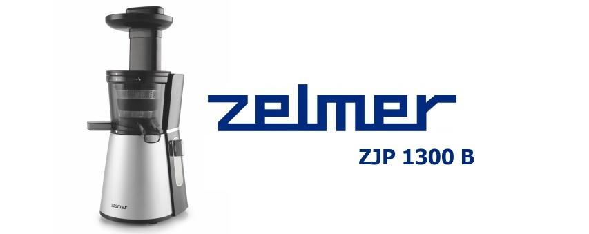 Slow Juicer Zelmer : Zelmer ZJP 1300 B - Juicer Alzashop.com