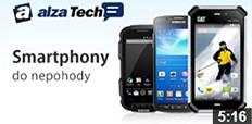 Telefony, které jsou nejen chytré, ale i odolné!