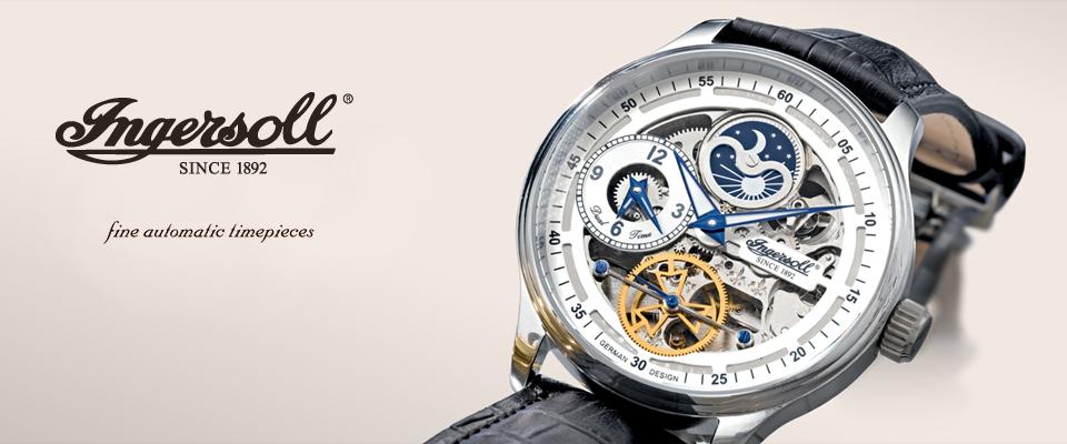 Legendární hodinky Ingersoll konečně v naší nabídce