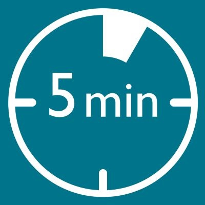 Pouze 5minutové ošetření, dvakrát týdně